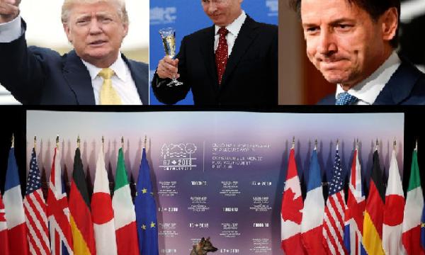 G7, Trump: a questo summit manca Putin
