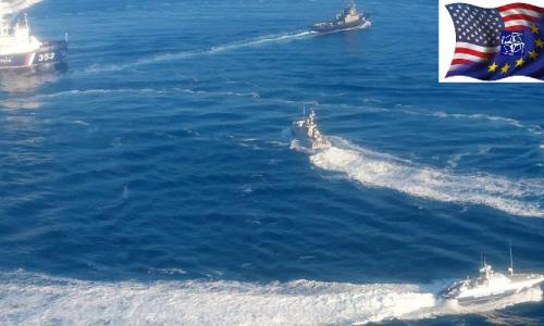 #WWIII Le forze dell'Asse Atlantista dietro la crisi del Mar d'Azov