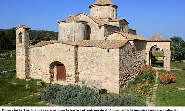 La Turchia spazza via la cultura cristiana della parte occupata di Cipro