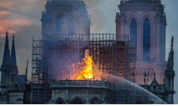 #France L'incendio di #NotreDame e la distruzione dell'Europa cristiana
