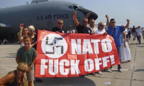 #NoNato BREVE STORIA DELLA NATO 1/10 LA NATO NASCE DALLA BOMBA – VIDEO