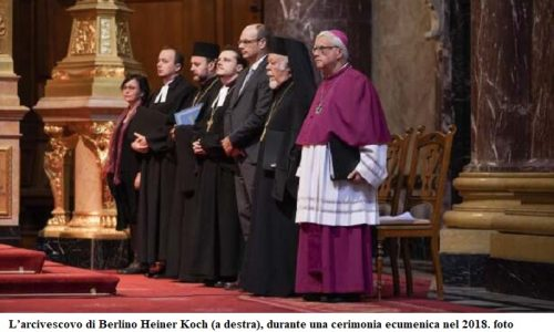L'arcivescovo di Berlino: Greta è come Gesù