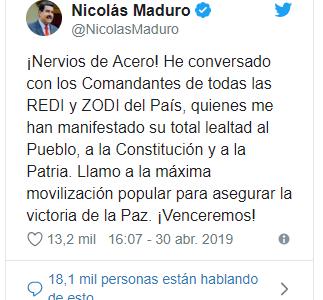 #Venezuela L'opposizione inscena un pericoloso golpe beffa