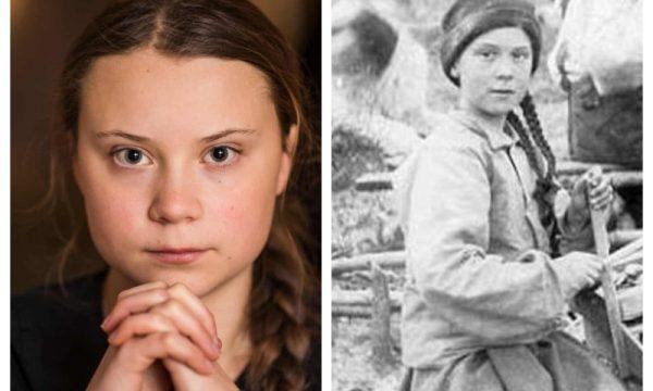 """#GretaThunberg l'Aliena col carisma di #Gesù è """"una viaggiatrice del tempo inviata per salvarci"""""""